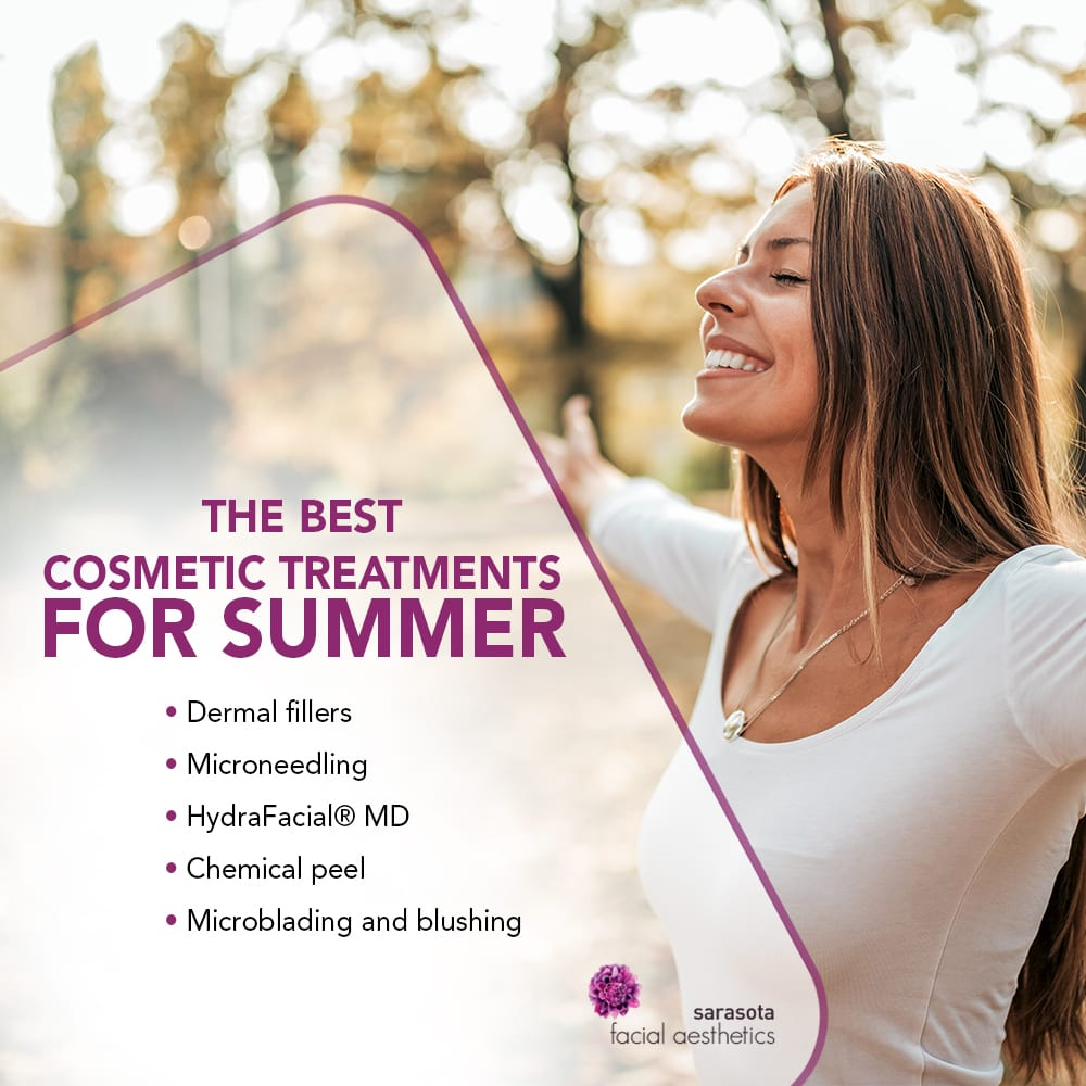 The Best Cosmetic Treatments for Summer [Infographic] img 1